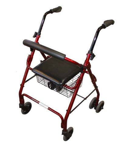 Seat Walker – Push Down Brakes and Curved Backrest