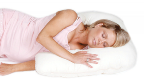 Side Snuggler Body Pillow - Side Sleeping Comfort Support Pillow