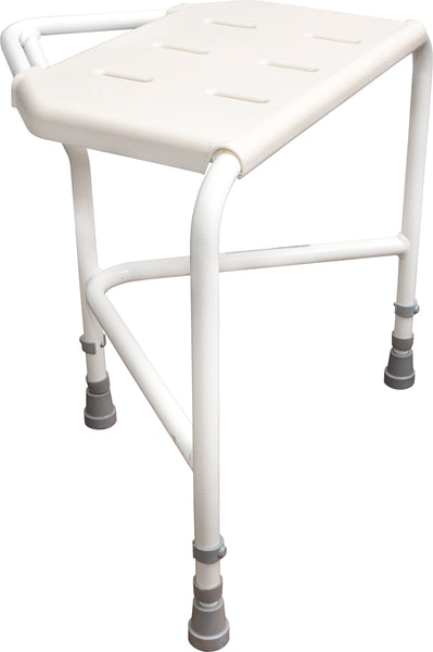 Ausnew Home Care Disability Services Pembury Height Adjustable Corner Shower Stool | NDIS Approved, mount druitt, rooty hill, blacktown, penrith