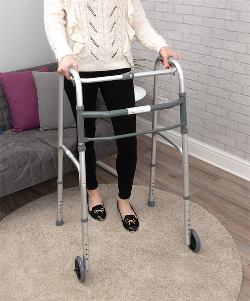 Ausnew Home Care Disability Services FOLDING WHEELED  WALKING FRAME | NDIS Approved, mount druitt, rooty hill, blacktown, penrith