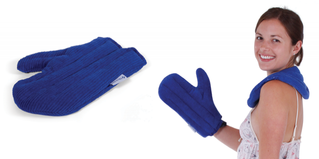 Ausnew Home Care Disability Services Natural Lupin Heat Pack - Comforting Hand Mitt Heat Bag | NDIS Approved, mount druitt, rooty hill, blacktown, penrith