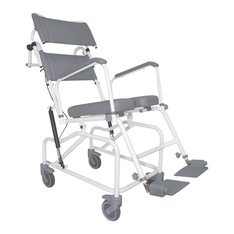 Ausnew Home Care Disability Services AquaMaster Tilt in Space Commode | NDIS Approved