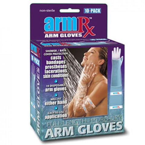 Ausnew Home Care Disability Services ArmRx Economy Arm Glove 10 Pack | NDIS Approved, mount druitt, rooty hill, blacktown, penrith