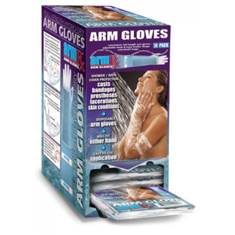Ausnew Home Care Disability Services ArmRx Arm Glove 30 Pack Dispenser | NDIS Approved
