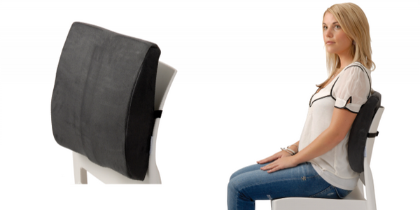 Back Huggar Chair Cushion - Lumbar & Lower Back Support Seat Cushion