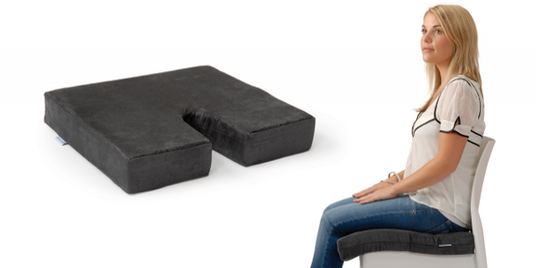 Coccyx Diffuser Chair Cushion - Memory Foam Coccyx Support