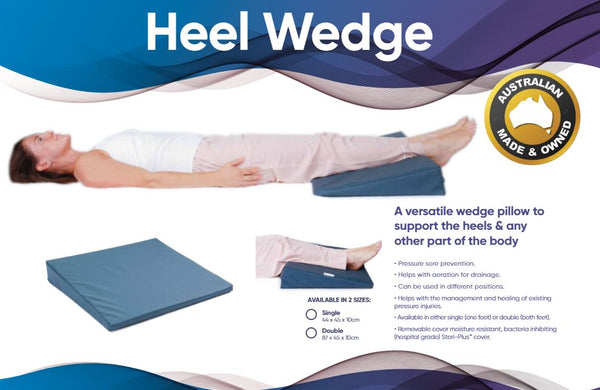 Ausnew Home Care Disability Services Heel Wedge - Heel Support Wedge Pillow  | NDIS Approved, mount druitt, rooty hill, blacktown, penrith