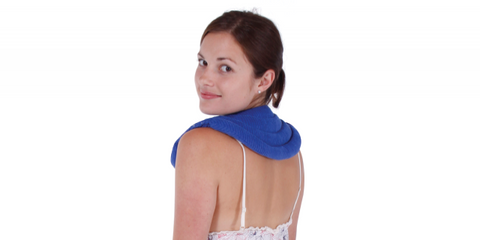 Ausnew Home Care Disability Services Natural Lupin Heat Wrap - Neck & Shoulder Natural Heat Pack l Heating Pad | NDIS Approved, mount druitt, rooty hill, blacktown, penrith