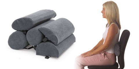 Ausnew Home Care Disability Services Spine Saver Lumbar Roll - Chiropractic Back Support Pillow | NDIS Approved, mount druitt, rooty hill, blacktown, penrith