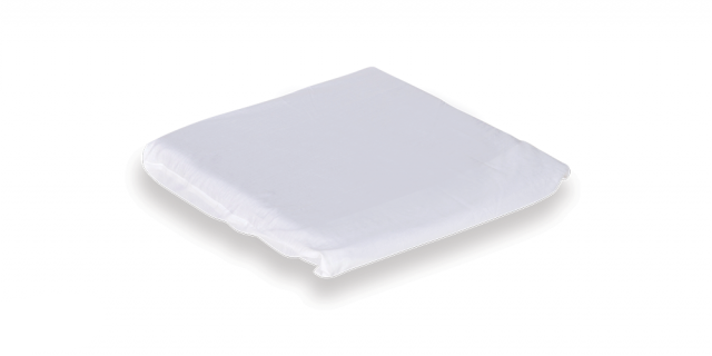 Ausnew Home Care Disability Services Keyhole Cushion Poly/Cotton Over Slip - White | NDIS Approved, mount druitt, rooty hill, blacktown, penrith