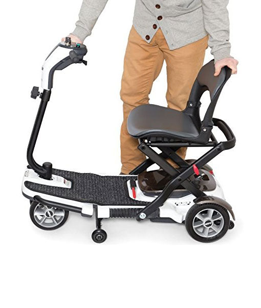 S19 Quest Deluxe Folding Mobility Travel Scooter