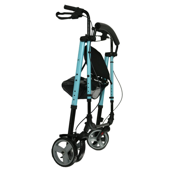 "Ausnew Home Care Disability Services 4 Wheel walker Seat Height Adjustable 6"" Wheels 