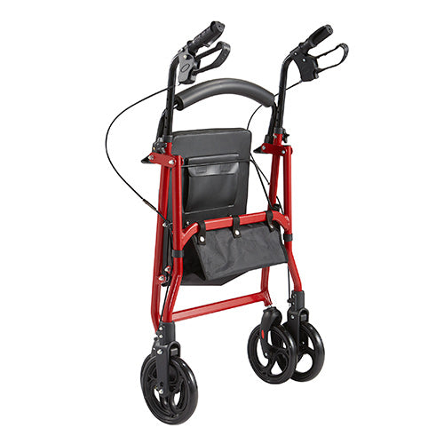 "Ausnew Home Care Disability Services Rollator RM201 Seat Adjustable 6"" Castor