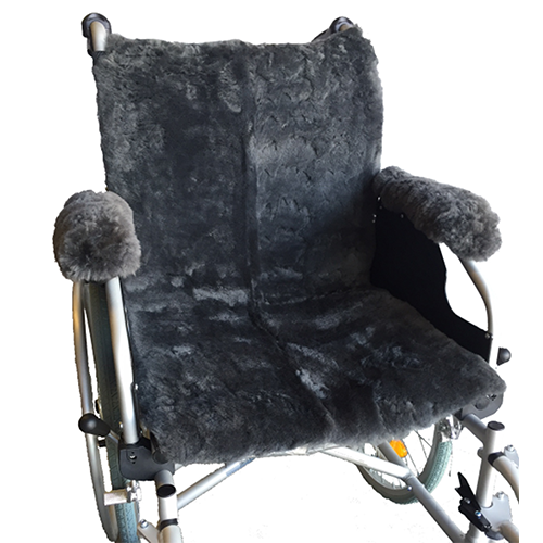 Ausnew Home Care Disability Services Sheepskin Wheelchair Seat Cover | NDIS Approved, mount druitt, rooty hill, blacktown, penrith