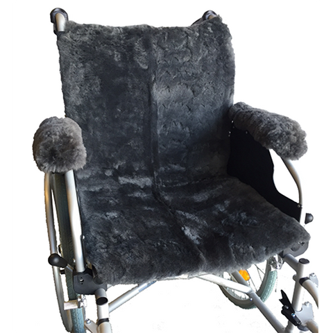 Sheepskin Wheelchair Seat Cover