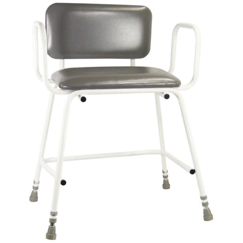 Ausnew Home Care Disability Services Torbay Bariatric Perching Stool with Back and Arm Rests | NDIS Approved, mount druitt, rooty hill, blacktown, penrith