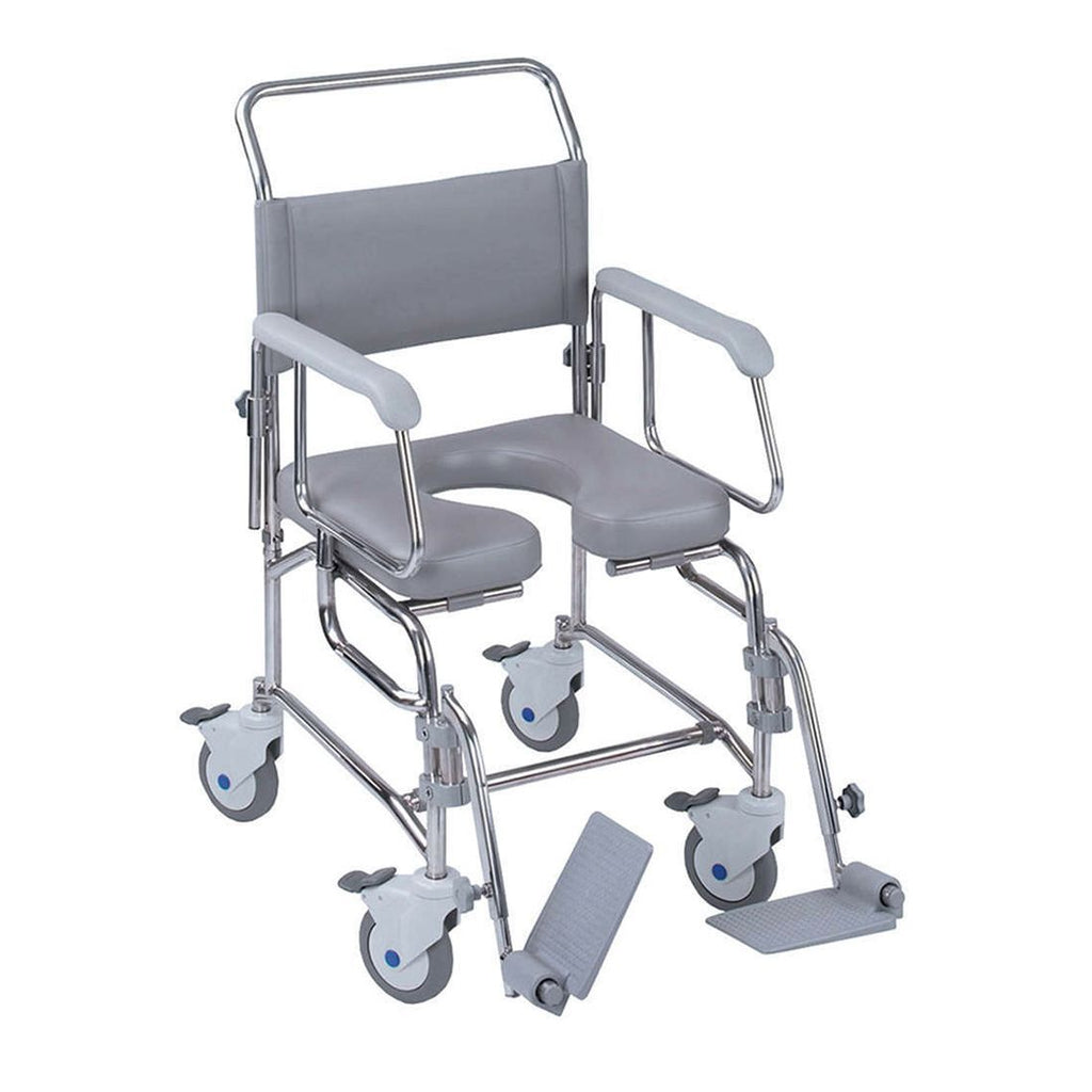 Ausnew Home Care Disability Services TransAqua Shower Commode Chair | NDIS Approved, mount druitt, rooty hill, blacktown, penrith