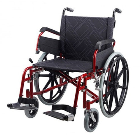 Ausnew Home Care Disability Services 61cm Bariatric Wheelchair | NDIS Approved, mount druitt, rooty hill, blacktown, penrith