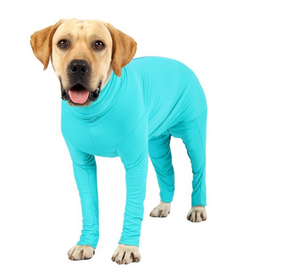 The Cozy Hound™  Turtleneck Onesie