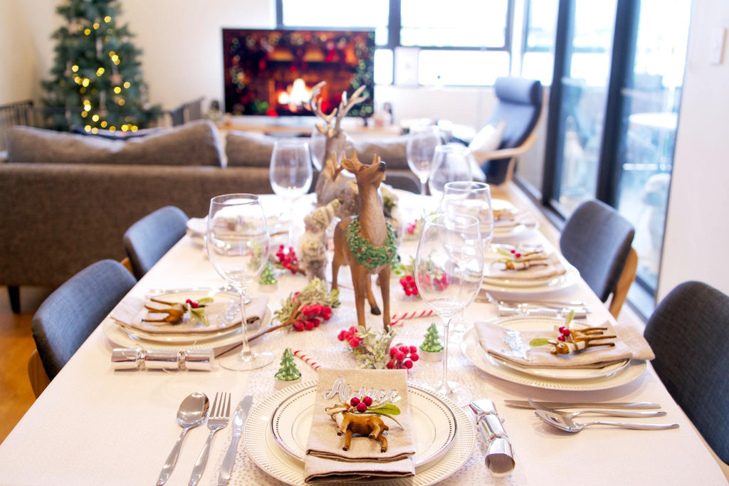 How to set the perfect Christmas dinner table