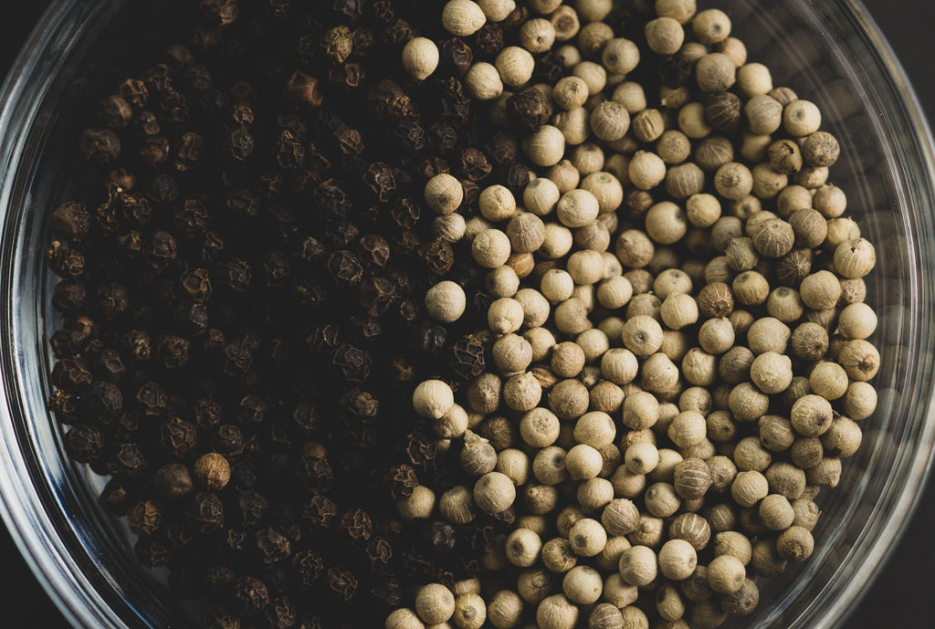 What's the Difference Between White and Black Pepper?