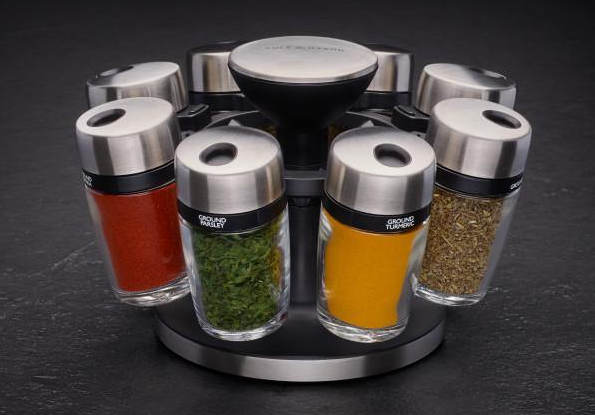 Cole and Mason Spice rack carousel