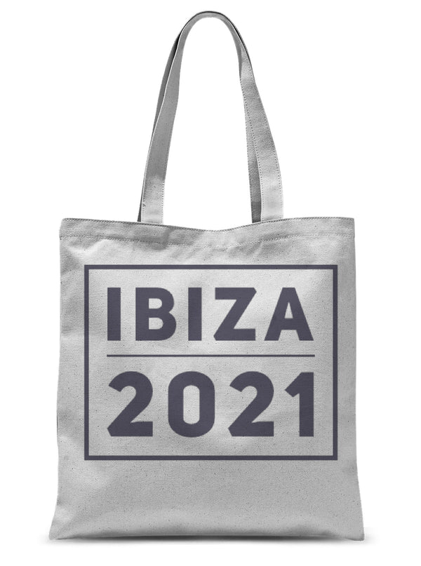 Unisex Ibiza 2021 Beach & Shopping Bag