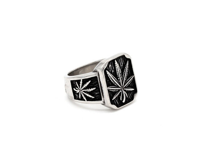 Retro Hemp Stainless Steel Ring