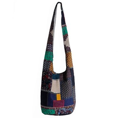 Hippie Bohemian Beach & Travel Cotton Bag