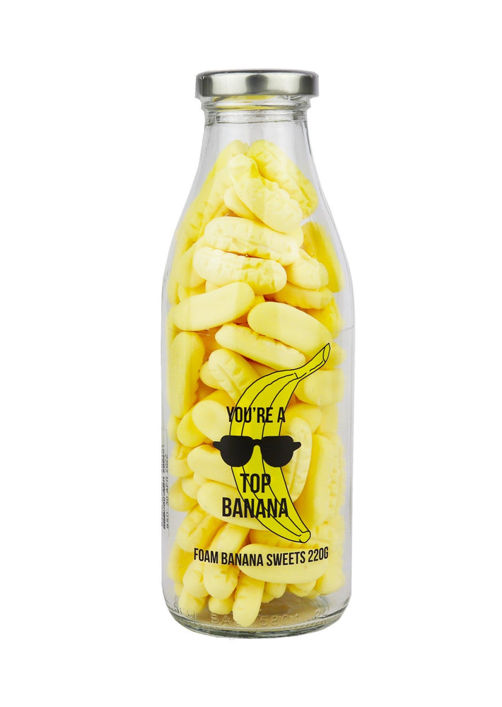 Load image into Gallery viewer, 'You're a top Banana' Foamy Banana Message Bottle – 220g