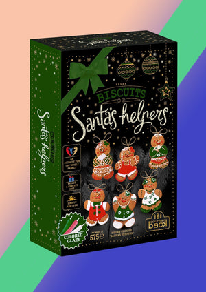 Load image into Gallery viewer, Gingerbread Santa's Helpers Kit – 575g