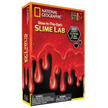 Load image into Gallery viewer, National Geographic Glow in the Dark Slime Lab