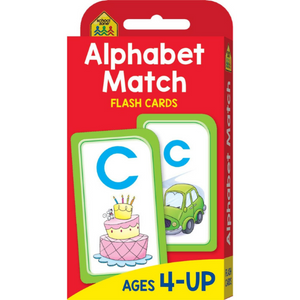 School Zone - Alphabet Match Flash Cards