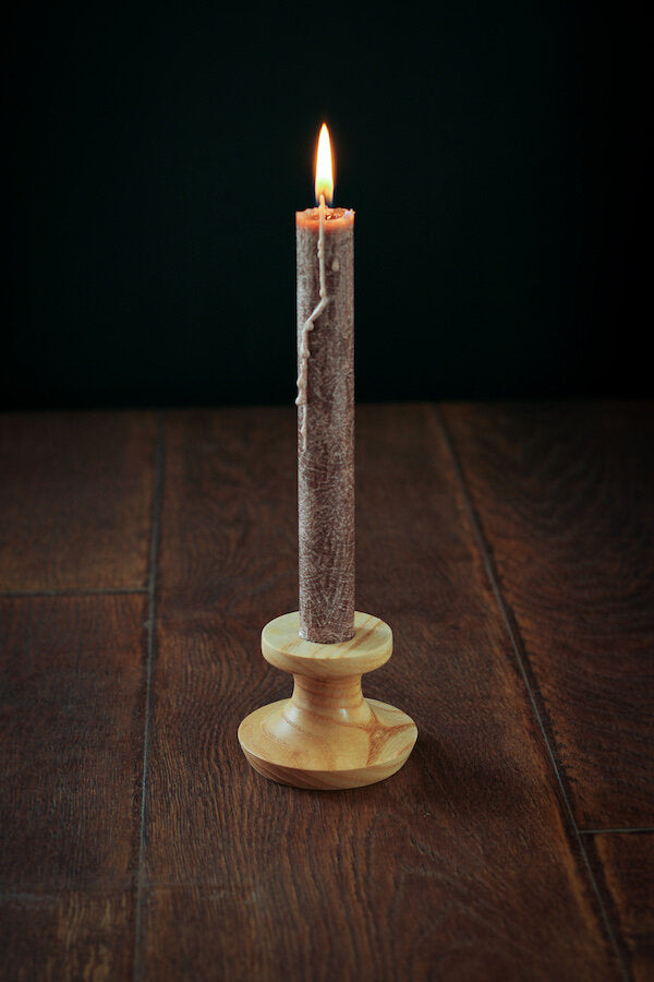 Low Ash Candlestick Holder