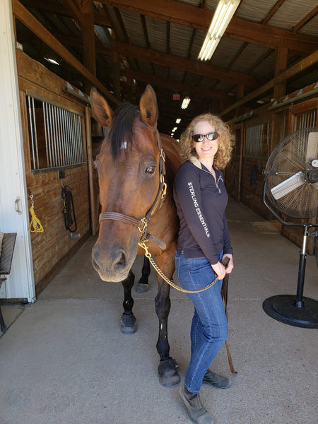 Women in Equestrian Business - Teal Shoop