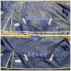 Blanket Safe Before and After