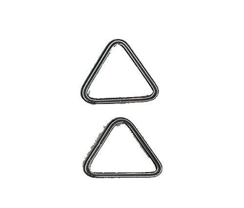(1 Inch) Triangle Rings - Blanket Safe