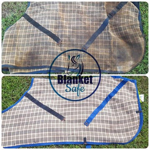 Blanket Safe Before & After