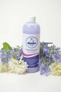 Blanket Safe French Lavender. Blanket Safe horse blanket, pet wear and pet accessory safe laundry soap. Pet Safe. Blanket Safe by RugSafe USA, llc