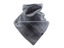 Load image into Gallery viewer, Hoodie Scarf - Boxed Grey