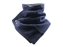 Load image into Gallery viewer, Hoodie Scarf - Boxed Blue