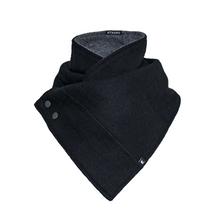 Load image into Gallery viewer, Scarf / Cowl - Charcoal Black