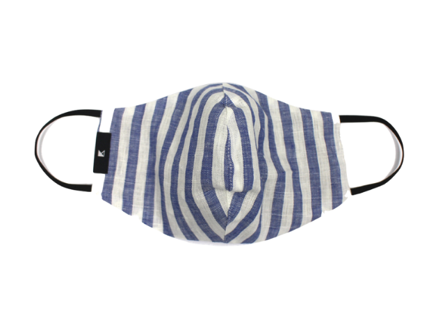 Curved Mask - Sailor Blue
