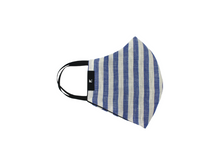 Load image into Gallery viewer, Curved Mask - Sailor Blue