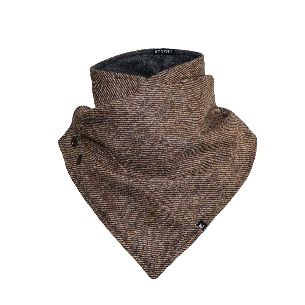 Scarf / Cowl - Speckle Brown
