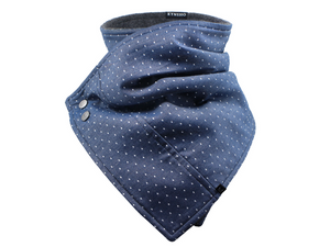 Chambray Dots - Scarf / Cowl