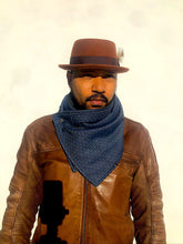 Load image into Gallery viewer, Chambray Denim Blend - Scarf / Cowl
