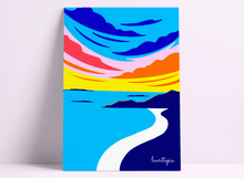 "Load image into Gallery viewer, Art print "" Sunset"""