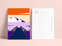 "Load image into Gallery viewer, Postcards set ""Colourful landscapes I"""