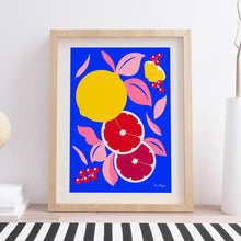 "Load image into Gallery viewer, Art print ""Fruities"""